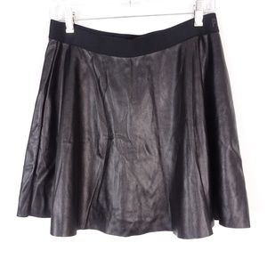NWT - PINK Victoria's Secret Faux Leather Skirt